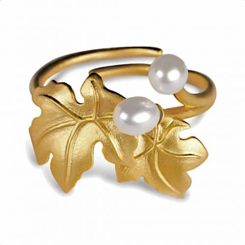 Blomstrende ahorn justerbar ring