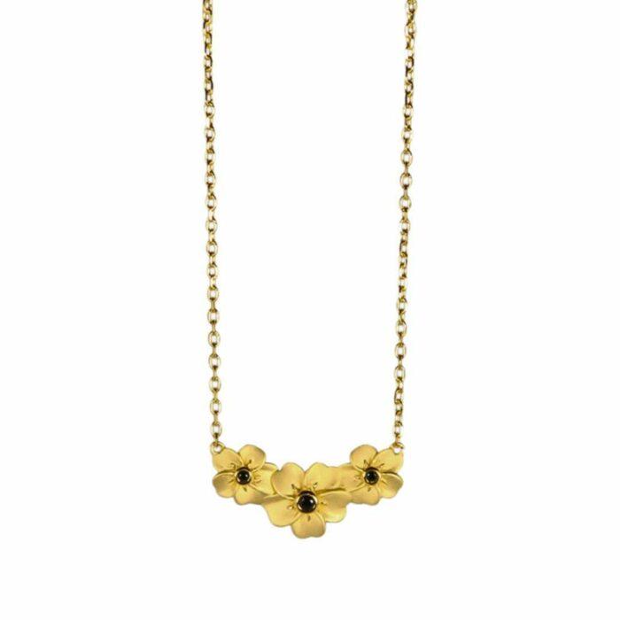 Forglemmigej halskæde fra A.Brask