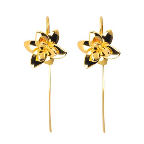 Orkide hængeøreringe - A.Brask