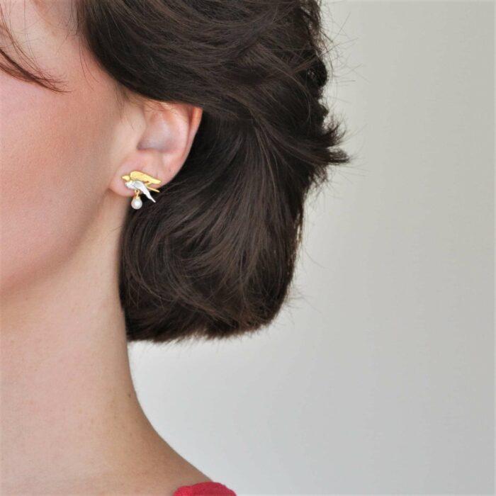 A.Brask - svale øreringe - Ørering