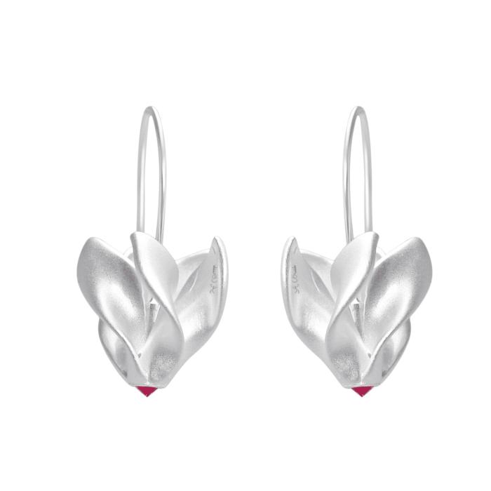 Alpeviol øreringe - A.Brask